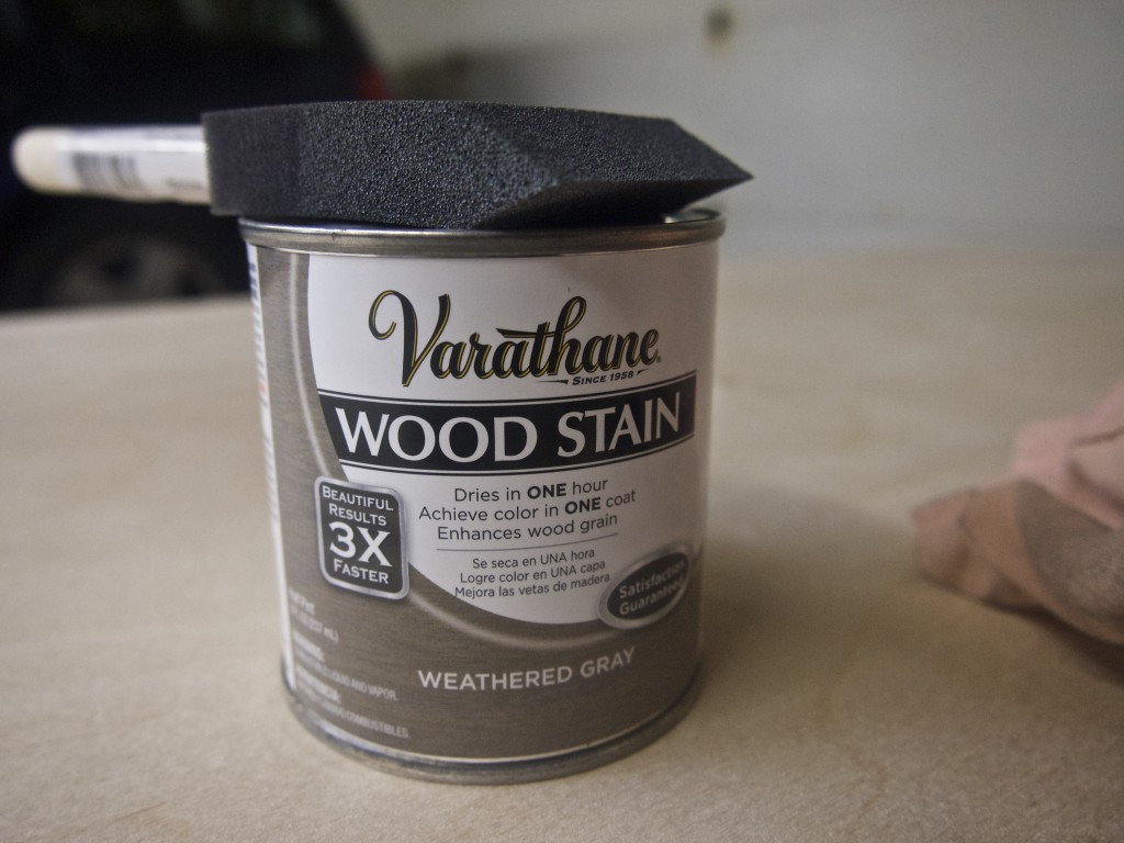 HIghly recommend snapping a quick photo of your paint/stain cans--so you can know later exactly what brand/color you used.